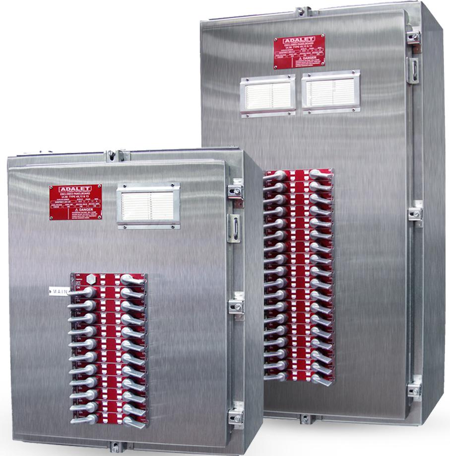 Type 4x Panelboards W Exterior Operating Handles